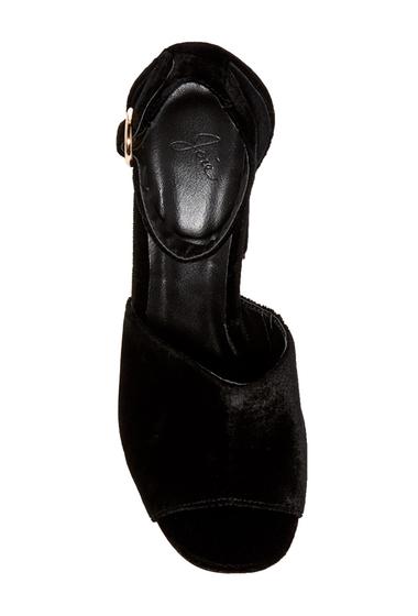 Incaltaminte Femei Joie Lahoma Velvet Sandal BLACK