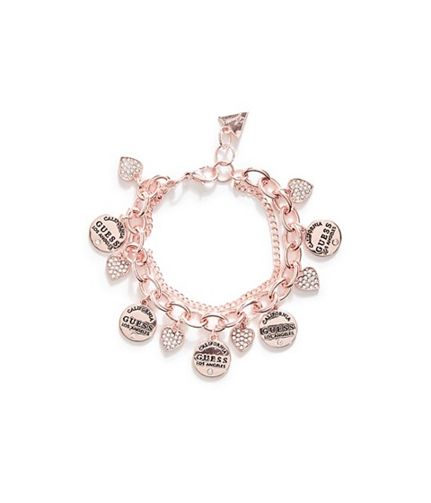 Bijuterii Femei GUESS Rose Gold-Tone Chain-Link Bracelet rose gold