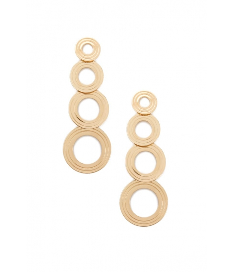 Bijuterii Femei Forever21 Disc Drop Earrings GOLD