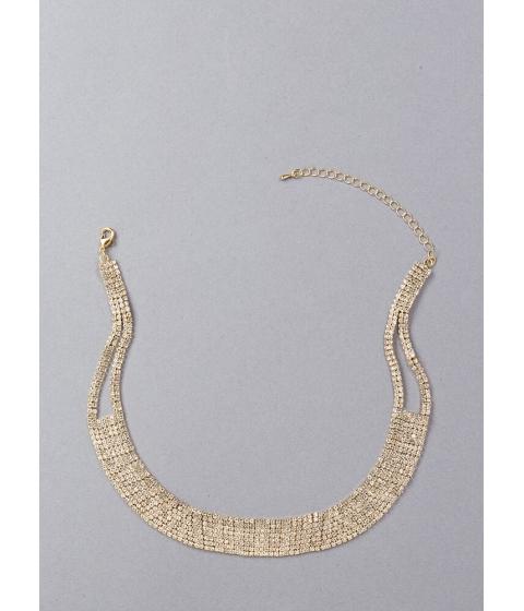 Bijuterii Femei CheapChic Necks Level Sparkle Faux Diamond Choker Gold