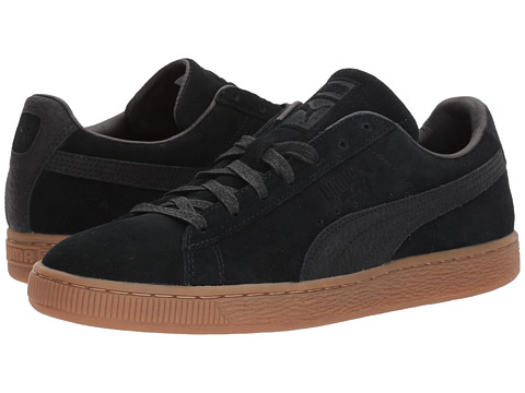 Incaltaminte Barbati PUMA Suede Classic Natural Warmth Puma BlackPuma Black