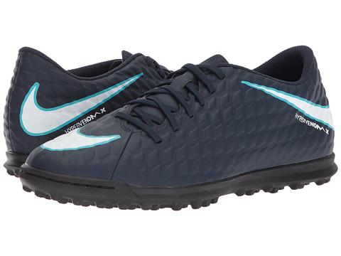 Incaltaminte Barbati Nike Hypervenom Phade III TF ObsidianWhiteGamma BlueGlacier Blue