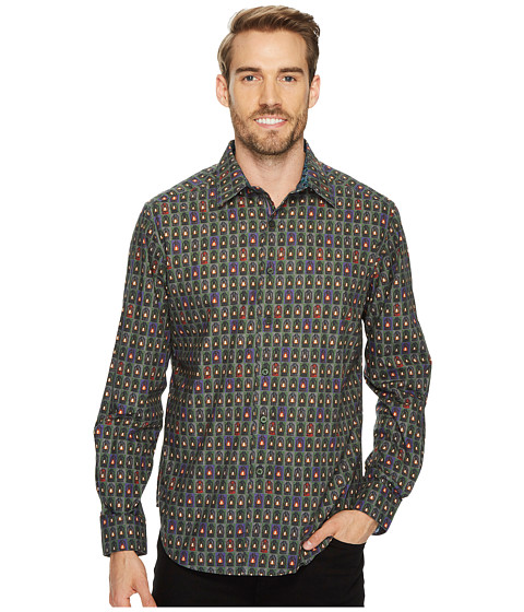 Imbracaminte Barbati Robert Graham Forest Lanterns Long Sleeve Woven Shirt Multi