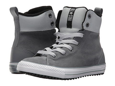 Incaltaminte Baieti Converse Chuck Taylor All Star Asphalt Boot Hi (Little KidBig Kid) Cool GreyWolfGreyBlack