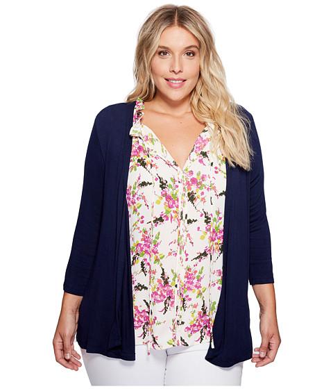 Imbracaminte Femei Bobeau Plus Size Knit Cardigan Navy