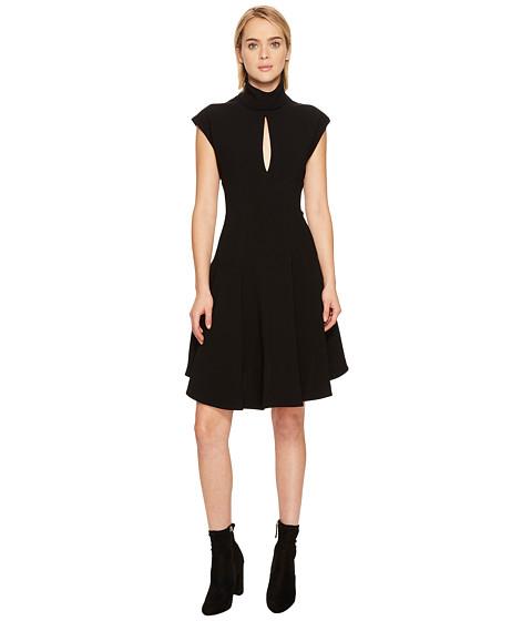 Imbracaminte Femei NEIL BARRETT Light Crepe Str Cap Sleeve Dress Black