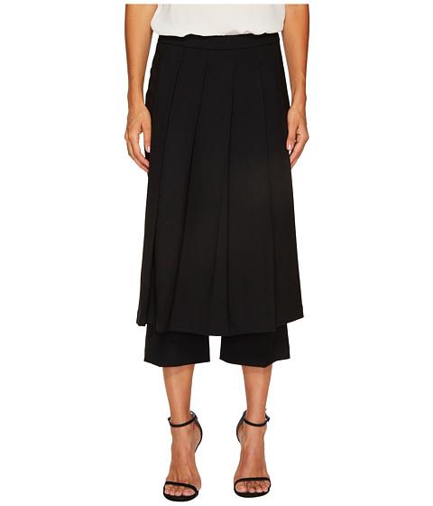 Imbracaminte Femei NEIL BARRETT Fine Tricotine Skirt Pants Black