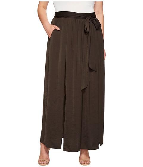 Imbracaminte Femei Bobeau Plus Size Rosemary Maxi Skirt Charcoal Grey