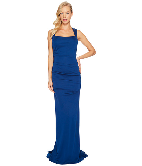 Imbracaminte Femei Adrianna Papell Sleeveless Ruched Lola Jersey Gown Night Flight