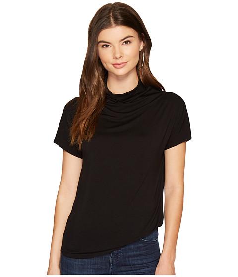 Imbracaminte Femei kensie Viscose Spandex Mock Neck Top KS9U3012 Black