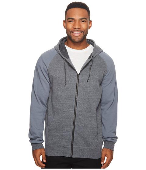 Imbracaminte Barbati Hurley Bayside Zip Hoodie Cool Grey