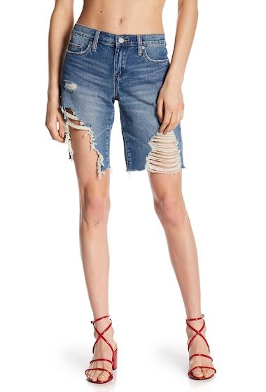Imbracaminte Femei BLANKNYC Denim Deconstructed Mid Thigh Shorts TOP SIDER
