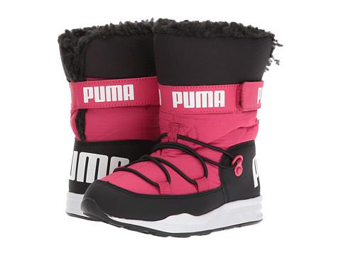 Incaltaminte Fete PUMA Trinomic Boot (Little KidBig Kid) Love Potion PinkPuma Black