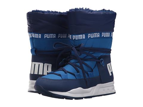 Incaltaminte Baieti PUMA Trinomic Boot (Big Kid) Lapis BlueBlue Depths
