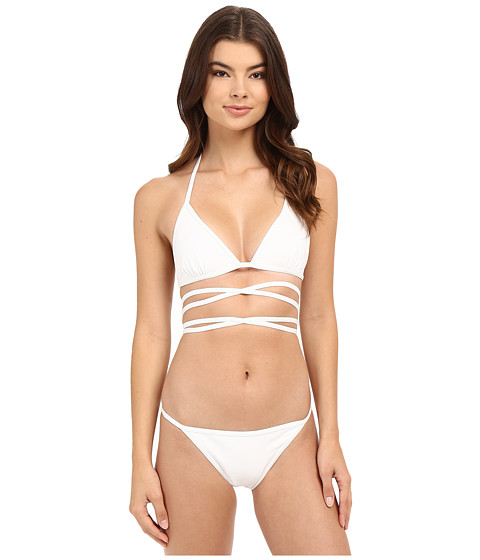 Imbracaminte Femei Michael Kors String Bikini Set White