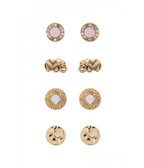 Bijuterii Femei Forever21 Assorted Stud Earring Set GOLDBLUSH