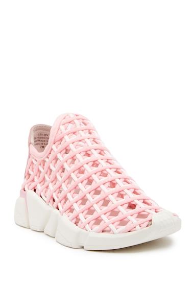 Incaltaminte Femei Jeffrey Campbell Gza Woven Slip-On Sneaker PNKWT CMBO