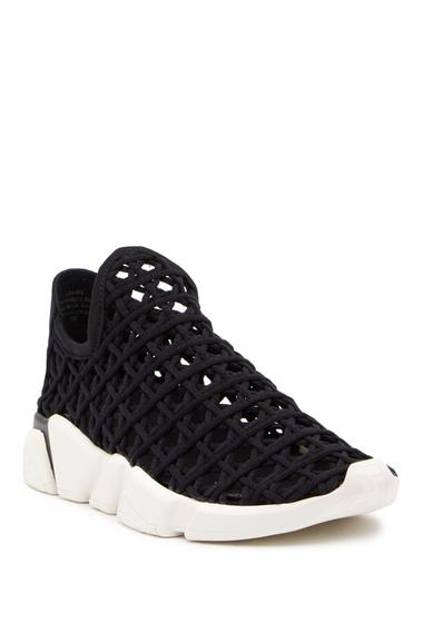 Incaltaminte Femei Jeffrey Campbell Gza Woven Slip-On Sneaker BLACK