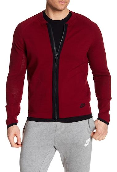 Imbracaminte Barbati Nike Tech Knit Bomber Jacket TEAM RBLACK