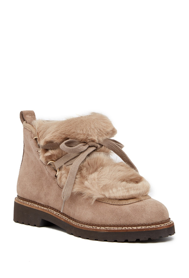 Incaltaminte Femei Franco Sarto Highland Faux Fur Trimmed Ankle Boot COCCO