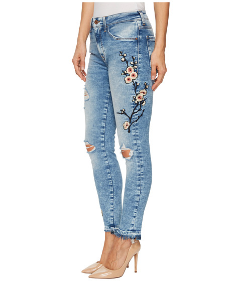 Imbracaminte Femei Mavi Jeans Tess High-Rise Ankle Super Skinny in Mid Japanese Embroidery Mid Japanese Embroidery