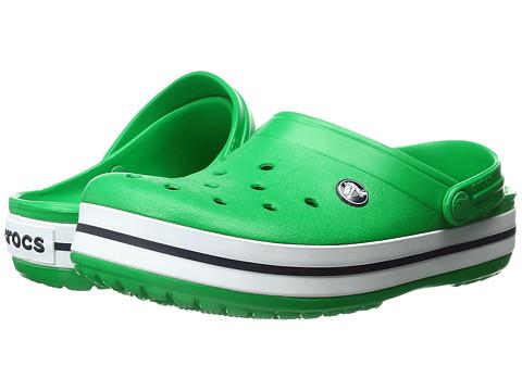 Incaltaminte Femei Crocs Crocband Clog Grass GreenWhite