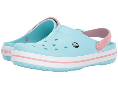 Incaltaminte Femei Crocs Crocband Clog Ice BlueWhite
