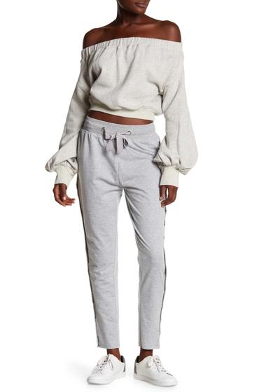 Imbracaminte Femei Tea Cup Button Up Athletic Pants GRAY