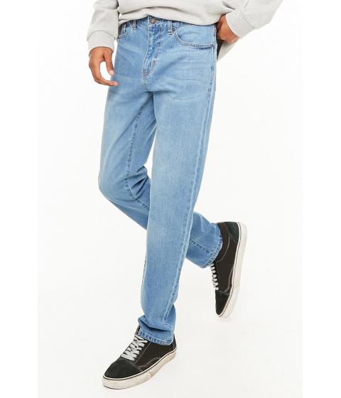Imbracaminte Barbati Forever21 Straight-Leg Jeans LIGHT DENIM