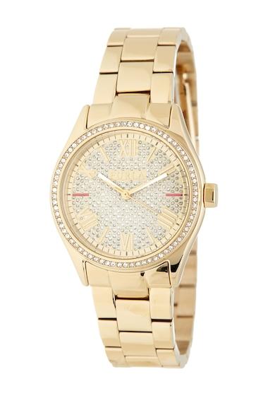 Ceasuri Femei Furla Womens Eva Diamond Dust Bracelet Watch 35mm GOLD