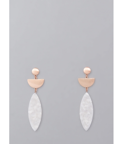 Bijuterii Femei CheapChic Shape Of Elegance Geometric Earrings Rosegold