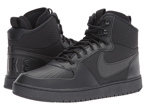 Incaltaminte Barbati Nike Court Borough Mid Winter BlackBlack