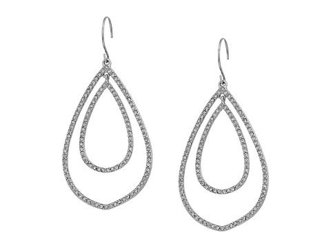 Bijuterii Femei Marc Jacobs Whisper Links Double Earrings Silver ToneClear