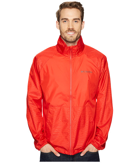 Imbracaminte Barbati Columbia Tabor Point Windbreaker Red Spark