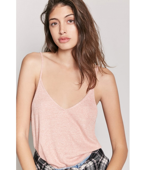 Imbracaminte Femei Forever21 Marled Knit Cami RUST