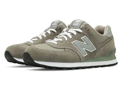Incaltaminte Barbati New Balance Mens 574 Classics Grey