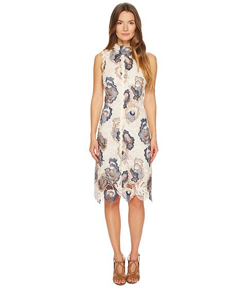 Imbracaminte Femei See by Chloe Floral Lace Dress WhiteBlue