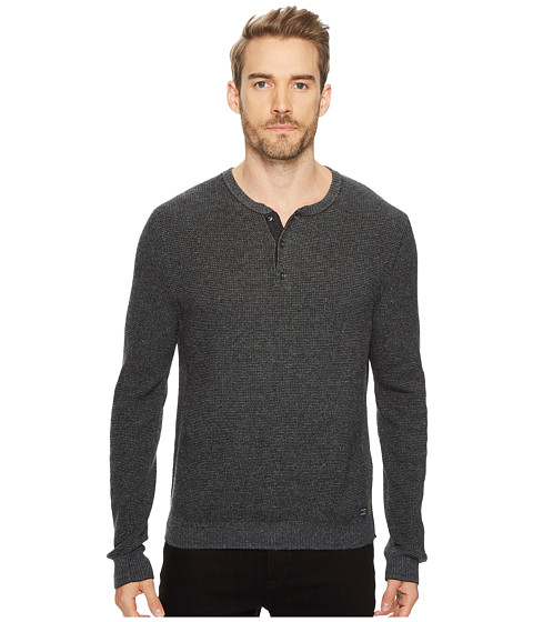 Imbracaminte Barbati Lucky Brand Stitch Henley Sweater Charcoal