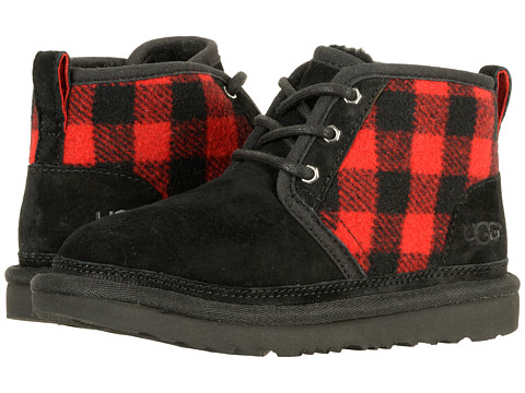 Incaltaminte Baieti UGG Kids Neumel II Plaid (Little KidBig Kid) Redwood