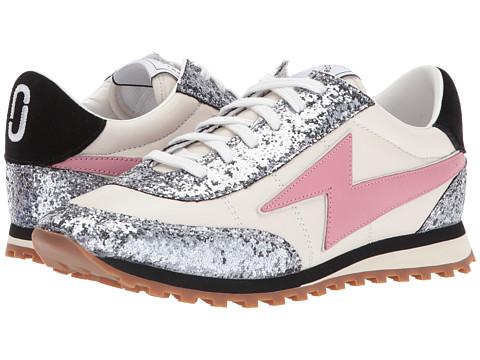 Incaltaminte Femei Marc Jacobs Astor Lightning Bolt Sneaker White Multi