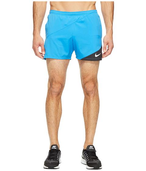 Imbracaminte Barbati Nike Distance 5quot Running Short Light Photo BlueBlack