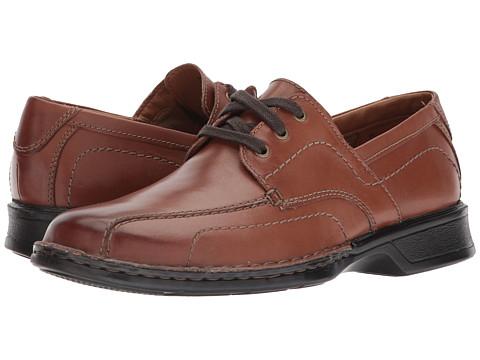 Incaltaminte Barbati Clarks Northam Edge Brown Leather