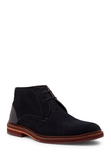 Incaltaminte Barbati Ted Baker London Azzlan Suede Chukka Boot DK BLUE