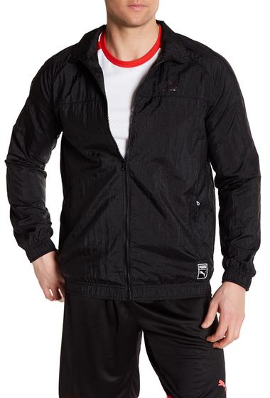 Imbracaminte Barbati PUMA Colorblock Track Jacket PUMA BLACK