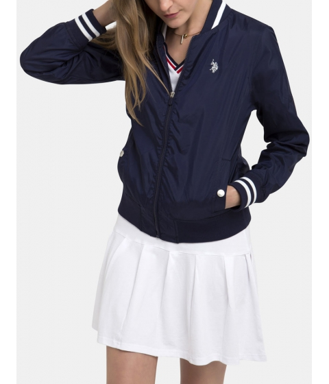Imbracaminte Femei US Polo Assn BASEBALL JACKET EVENING BLUE