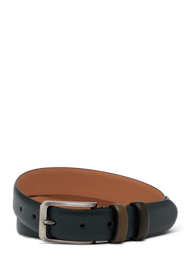 Accesorii Barbati Ted Baker London Shrubs Leather Belt DARK GREEN