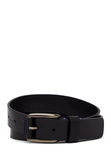 Accesorii Barbati Ted Baker London Jeebelt Textured Leather Belt BLACK