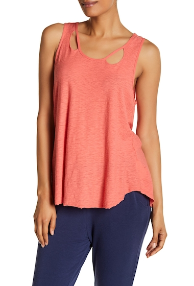 Imbracaminte Femei Michelle by Comune Distressed Knit Tank DEEP CORAL