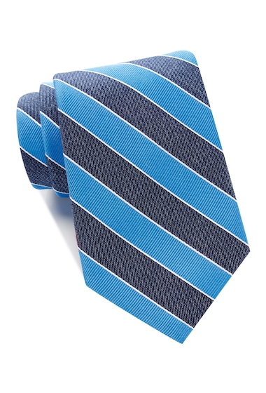 Accesorii Barbati Tommy Hilfiger Denim Bar Stripe Tie - Extra Long BLUE