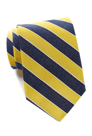 Accesorii Barbati Tommy Hilfiger Denim Bar Stripe Tie - Extra Long YELLOW
